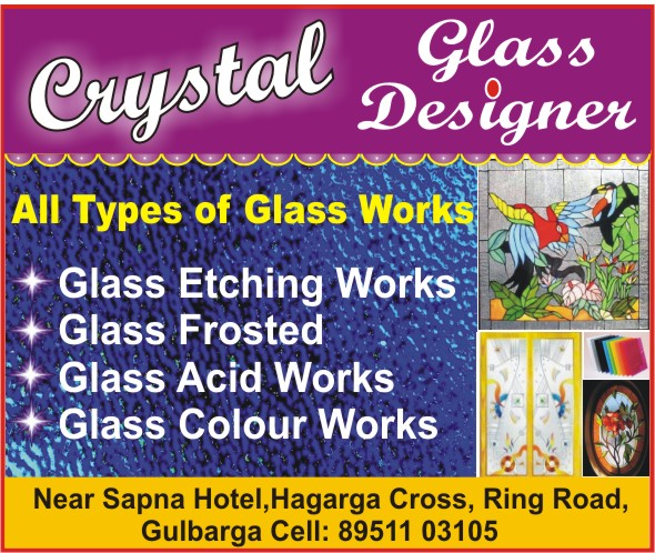 Crystal Glass  Designer
