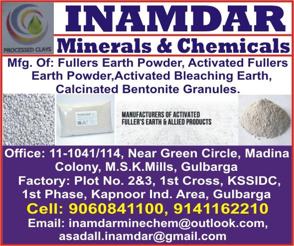 INAMDAR Minerals & Chemicals