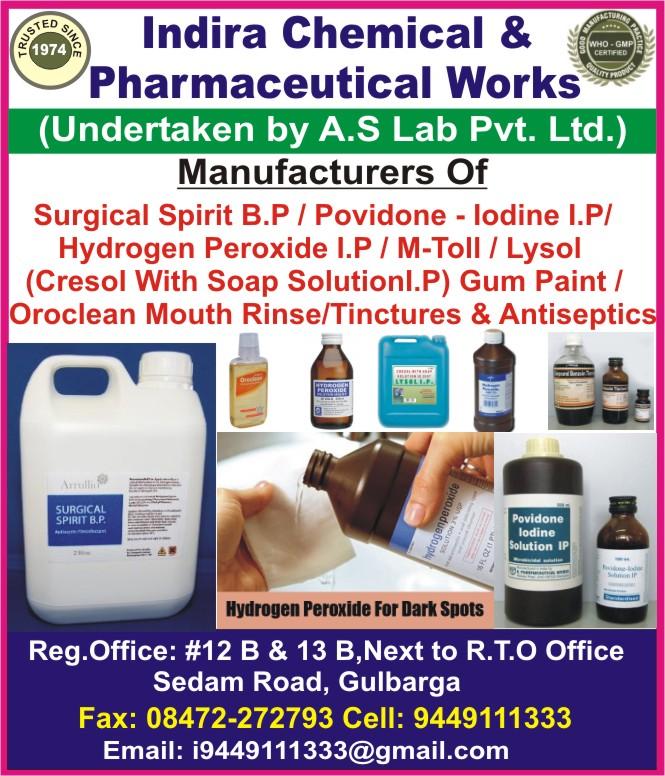 Indira Chemical &  Pharmaceutical Works