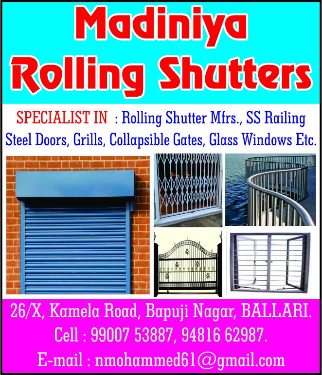 Madiniya Rolling Shutters