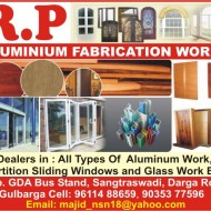 R.P ALUMINIUM FABRICATION WORKS