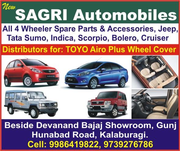 New SAGRI Automobiles