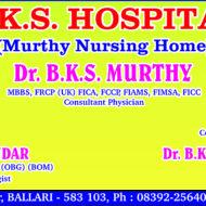 B.K.S. Hospital (Murthy Nursing Home)
