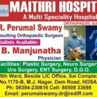 Dr. B. Manjunath