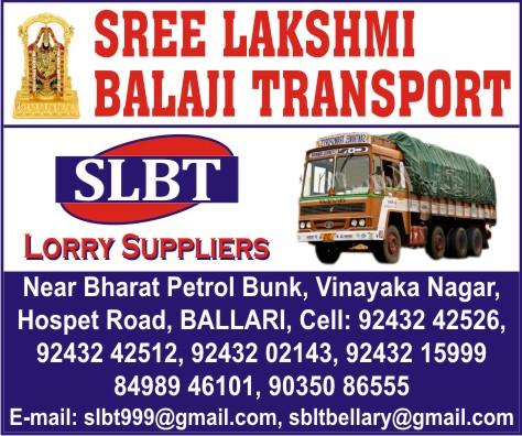 Sree Lakshmi Balaji Transport