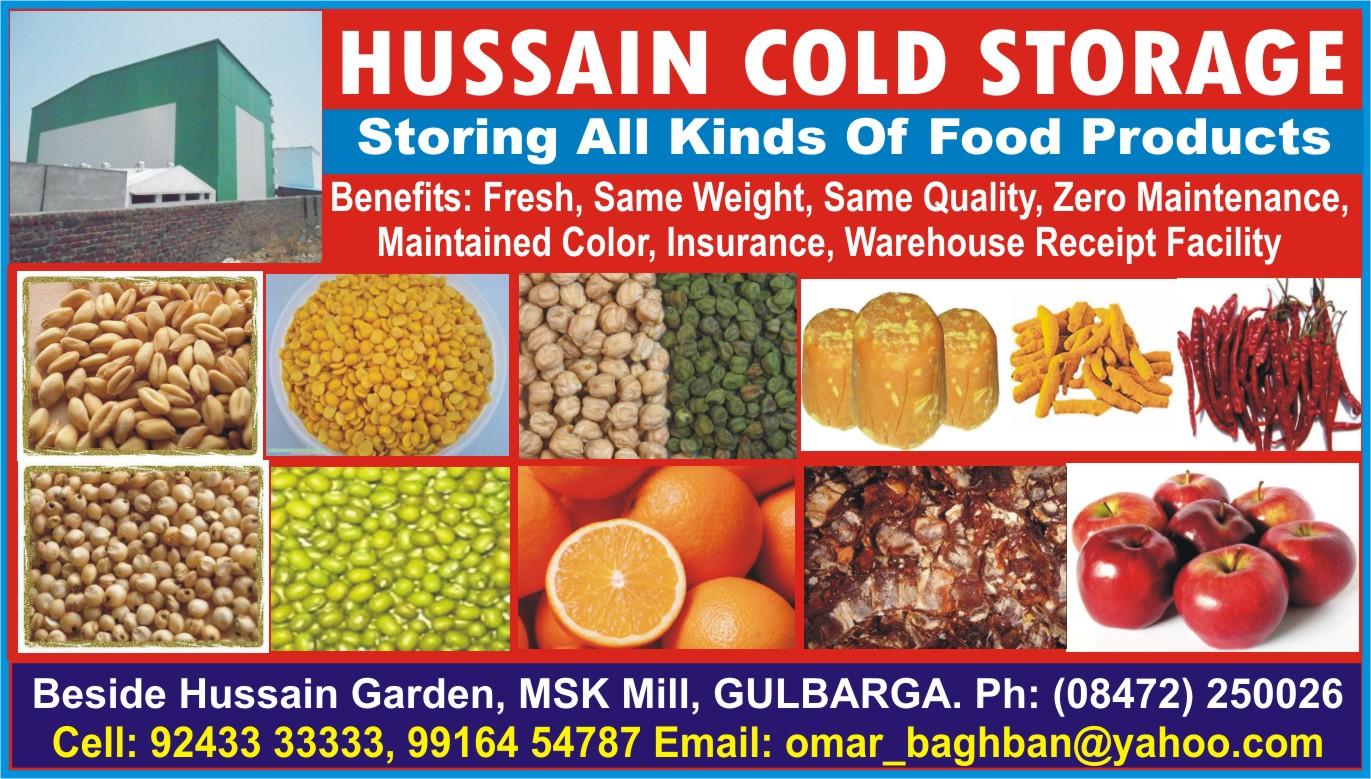 HUSSAIN COLD STORAGE
