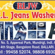 R.L. Jeans Washers