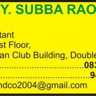 Y. Subba Rao
