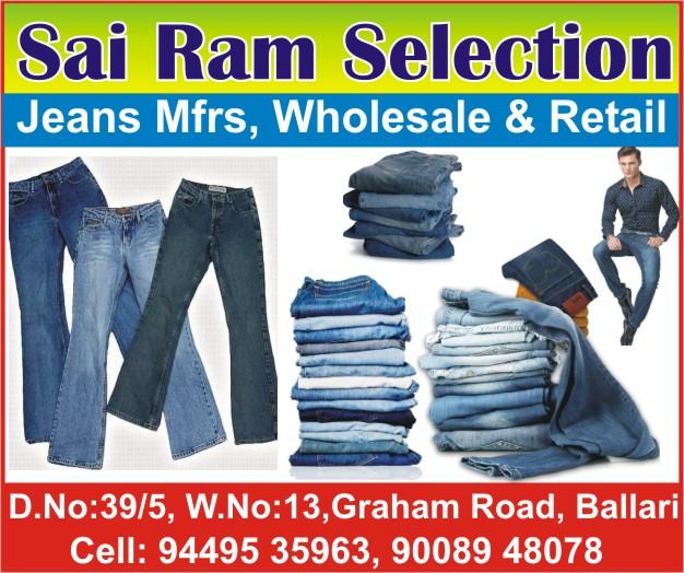 Sai Ram Selections