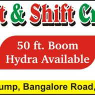 Bismillah Lift & Shift Crane Services