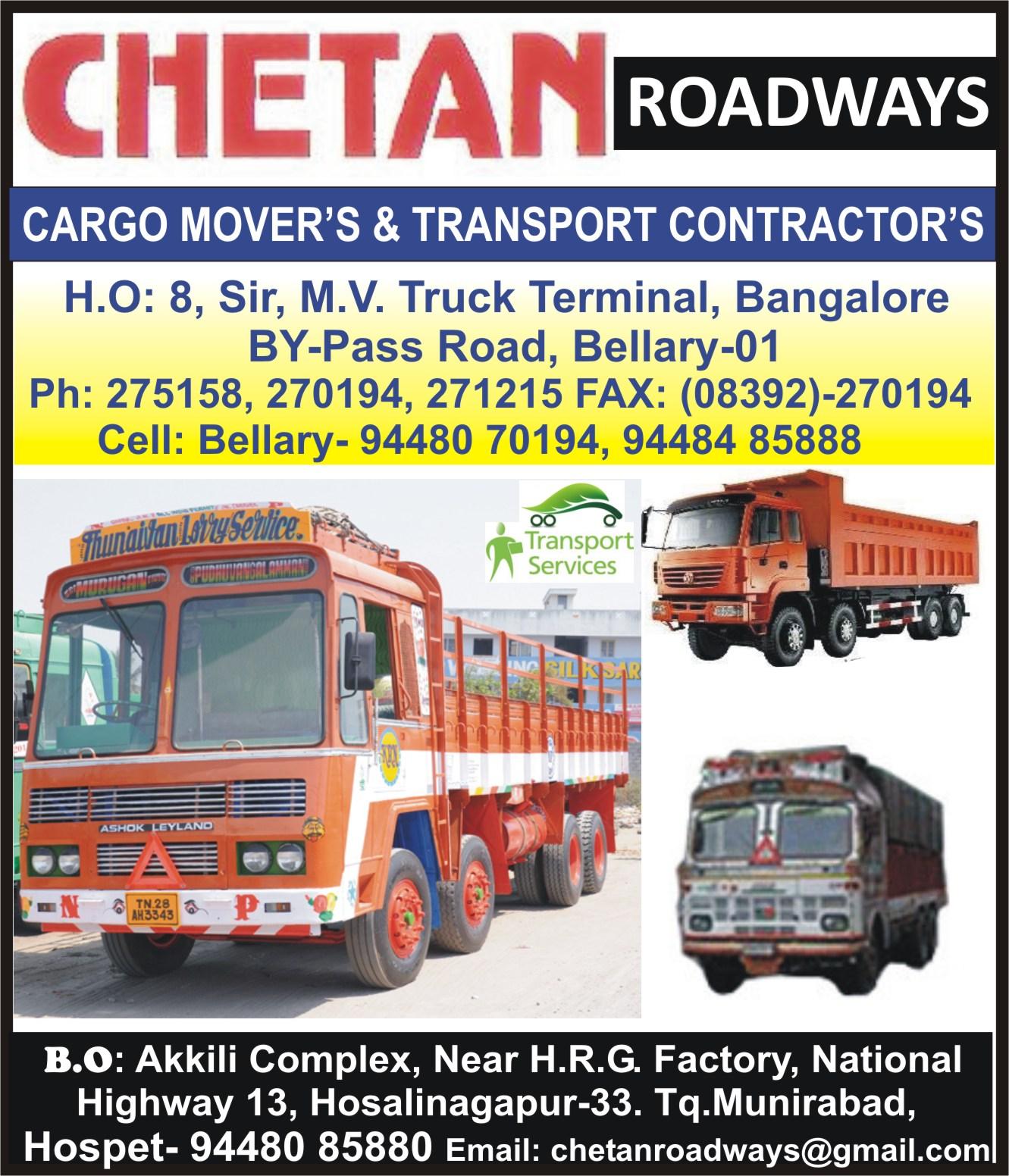 Chetan Roadways