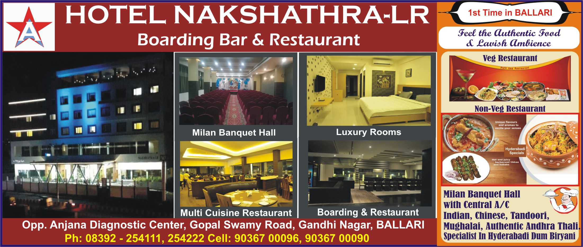 HOTEL NAKSHATHRA-LR