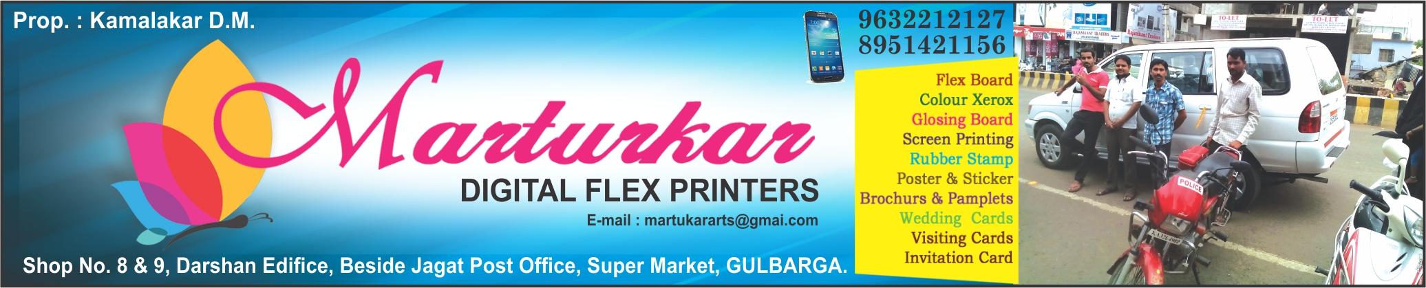 Marturkar Digital Flex Printers