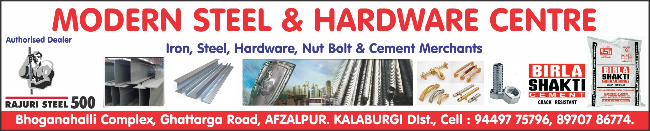 Modern Steel & Hardware Centre