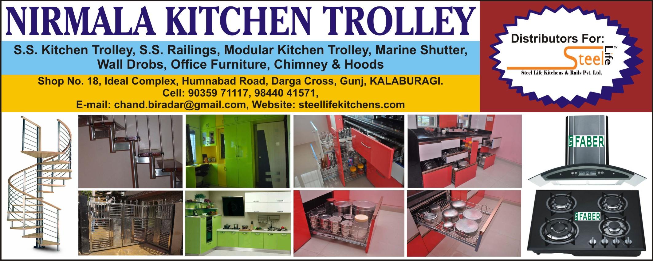 Nirmala Kitchen Trolley