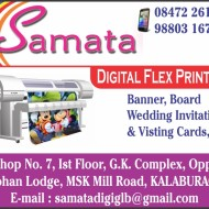 Samata  Digital Flex Printers