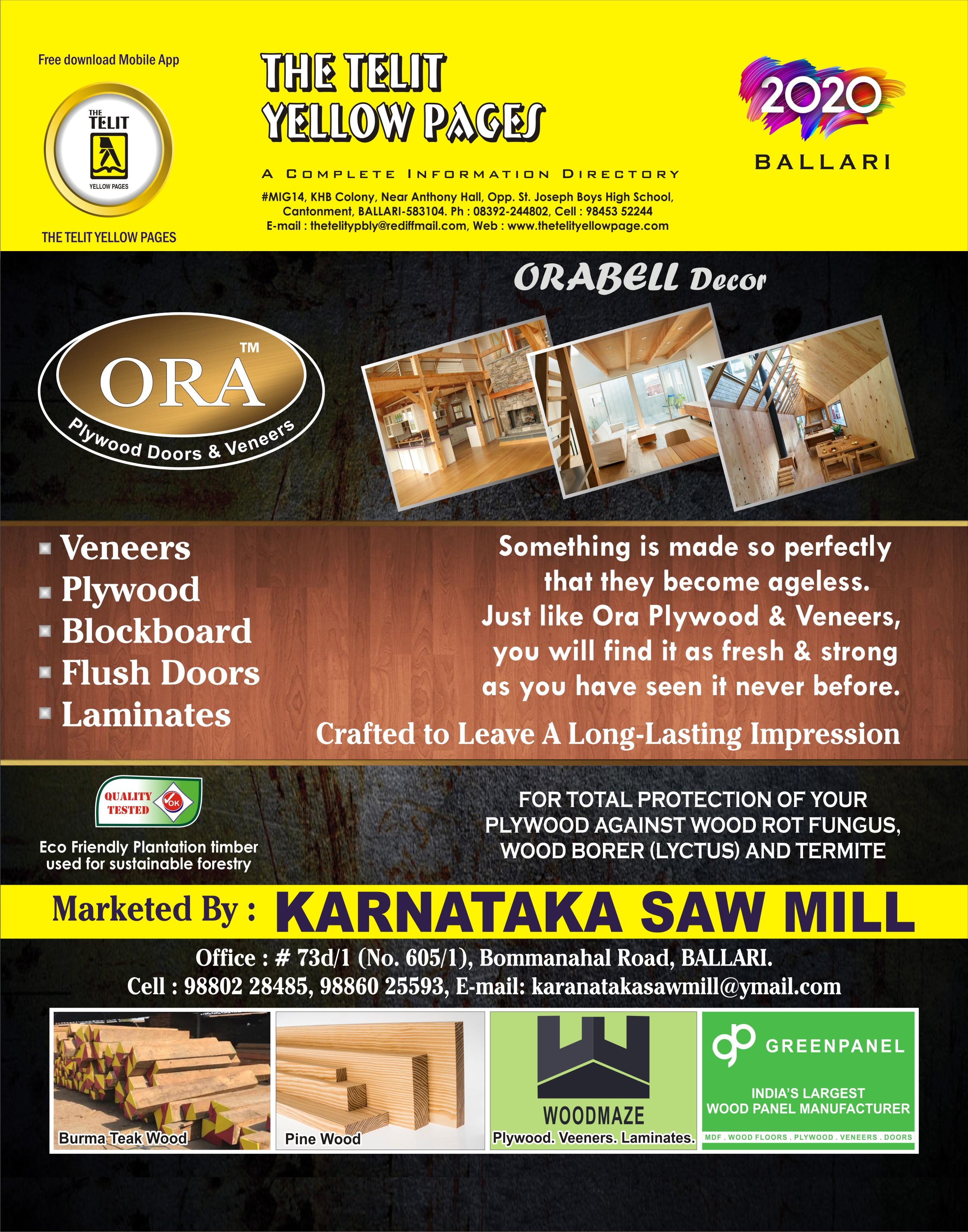 Plywood Suppliers in Ballari