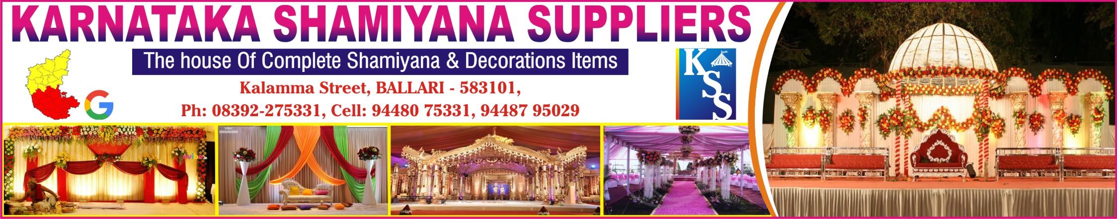 Karnataka Shamiyana Suppliers