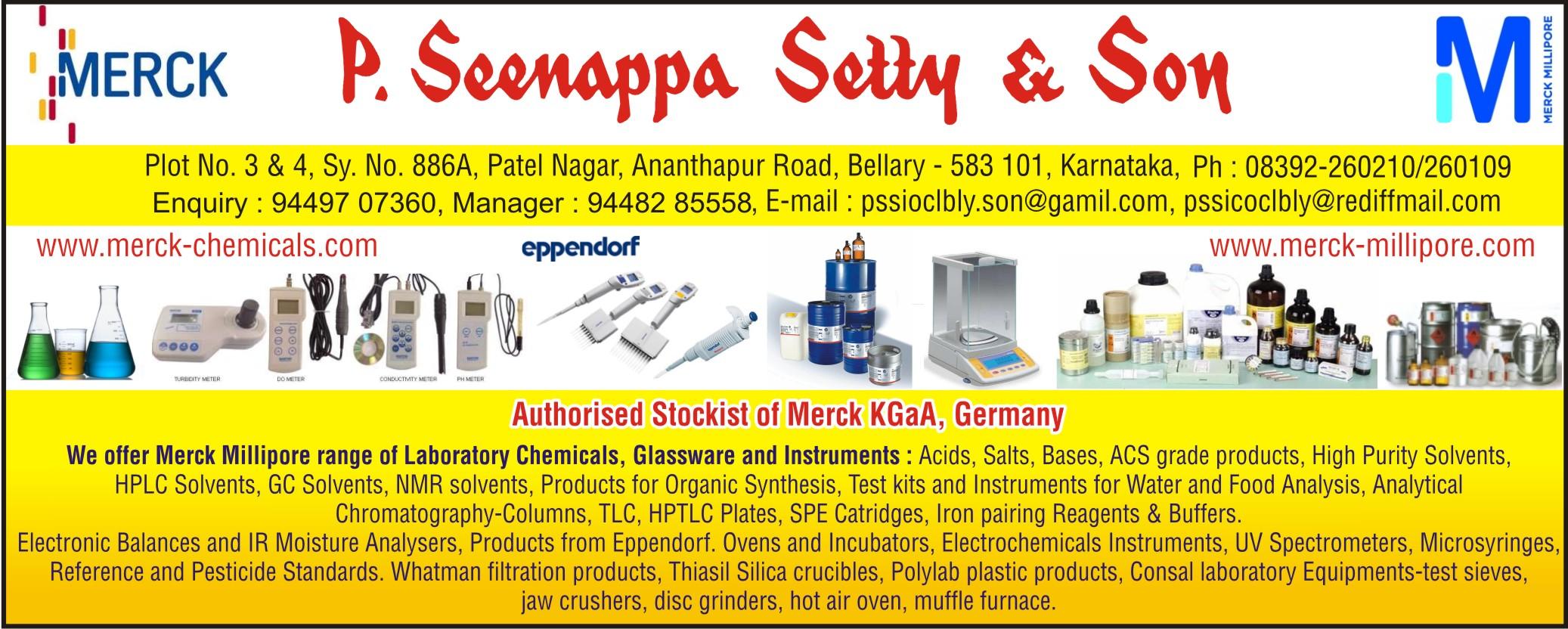 P. Seenappa Setty & Son