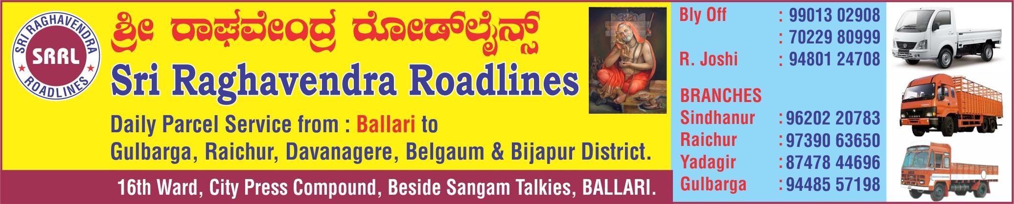 Sri Raghavendra Roadlines