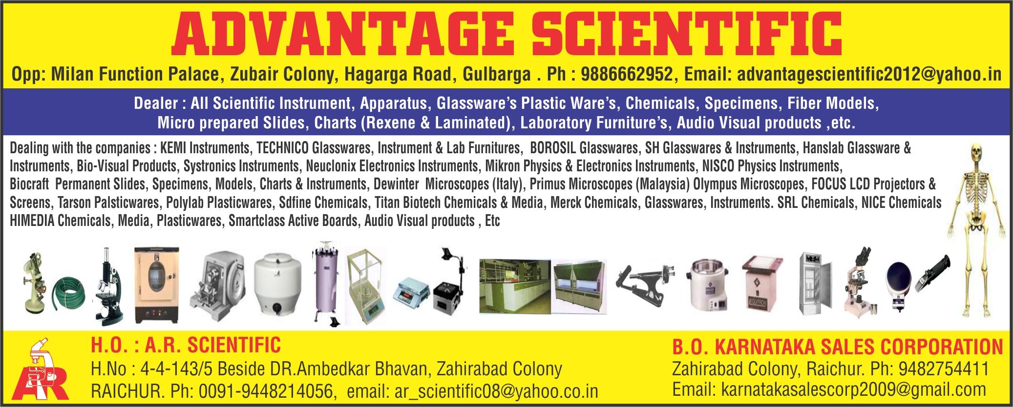 Advantage Scientific