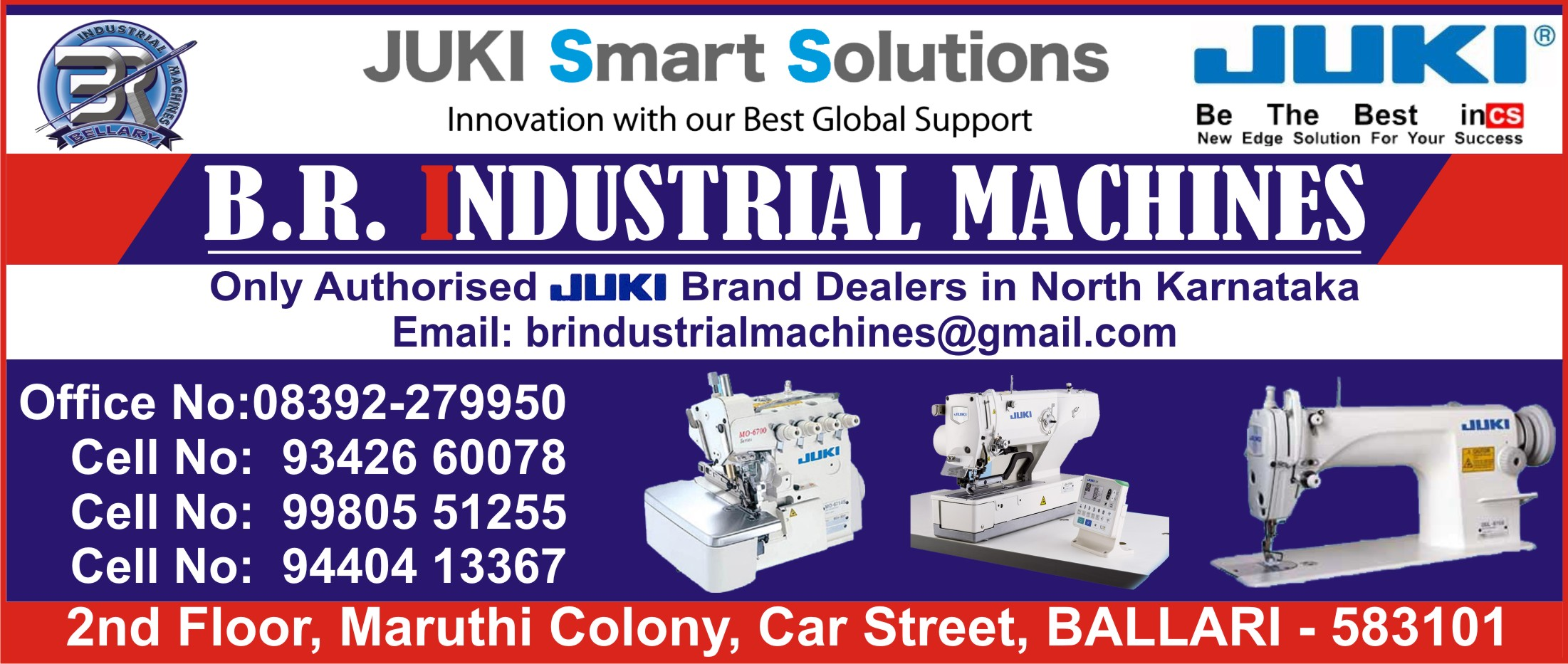 Juki Industrial Sewing Machines in Ballari