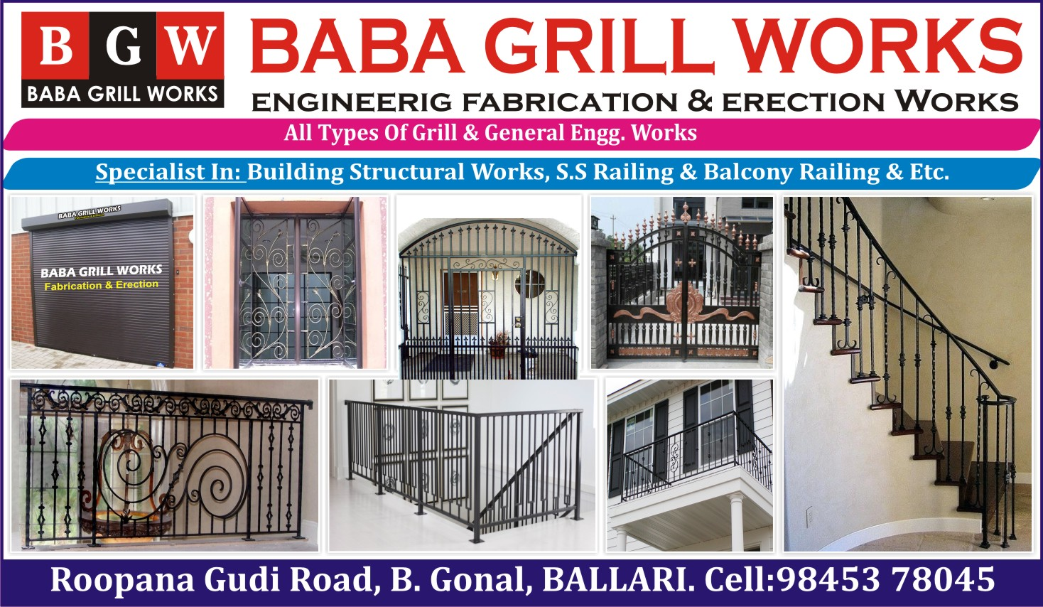 BABA GRILL WORKS