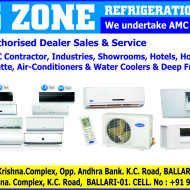 Cooling Zone Refrigerators & Airconditionering