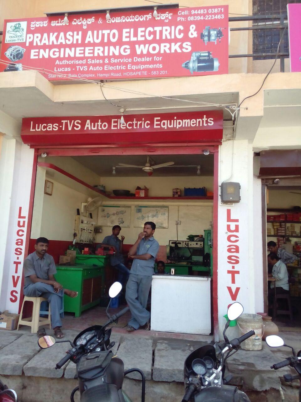 PRAKASH AUTO ELECTRIC & ENGINEERING WORKS