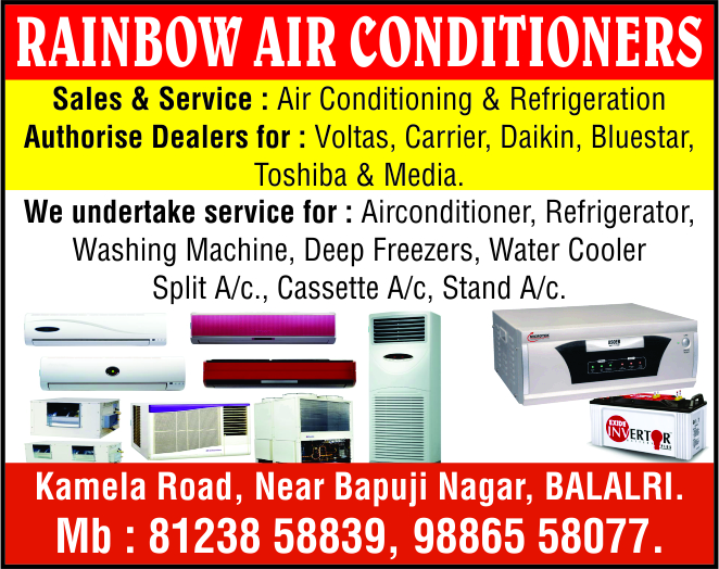 Rainbow Air Conditioners