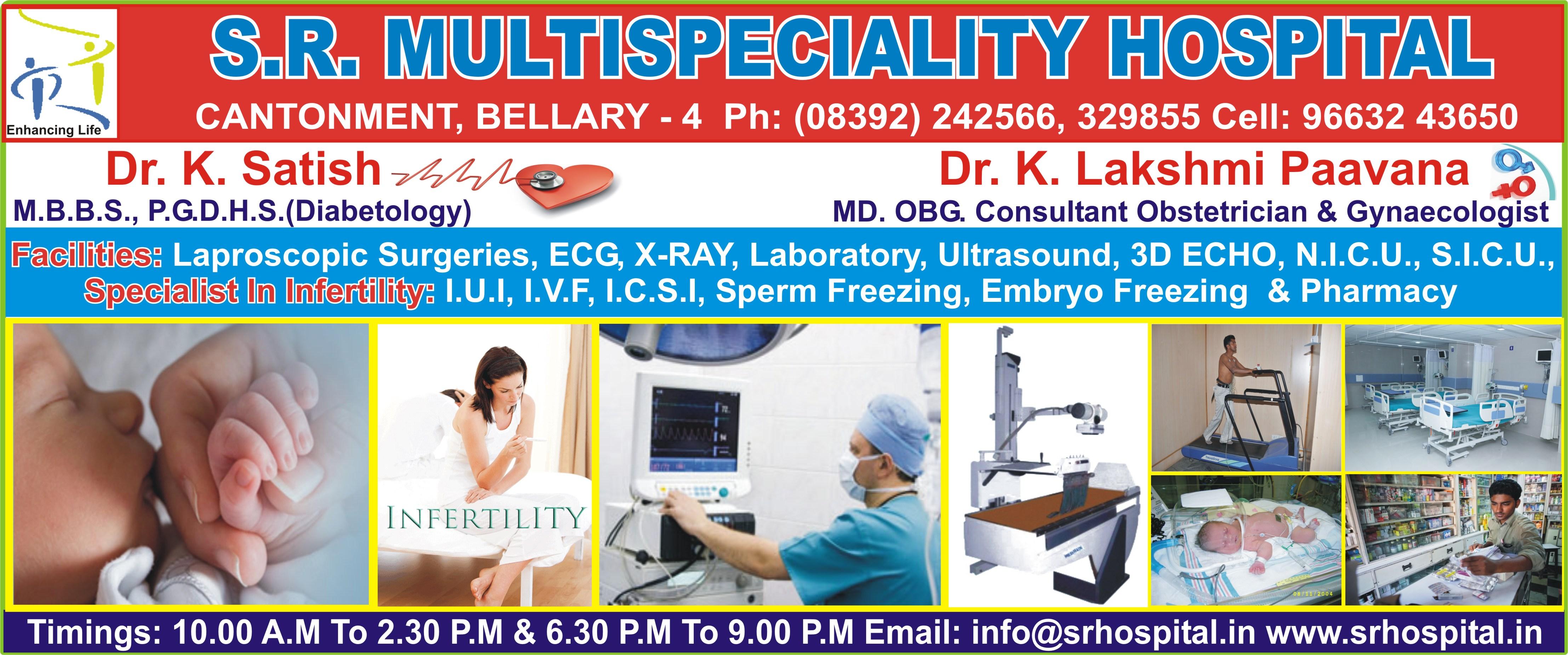 S. R. Multispeciality Hospital