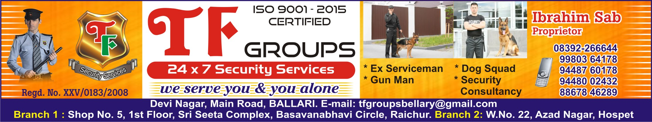 T.F. Groups Security Services