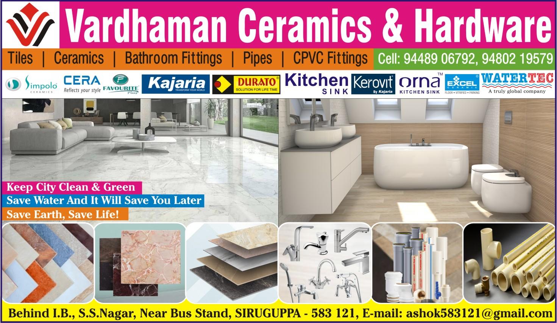 Vardhaman Ceramics & Hardware