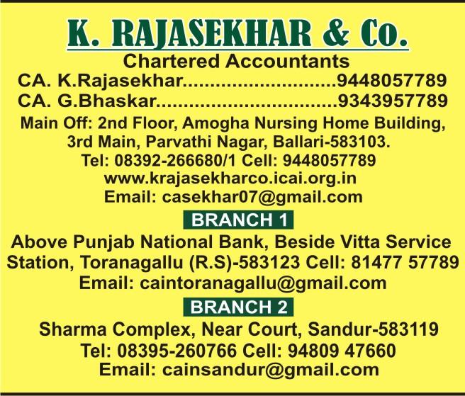 K. Rajashekar & Co.