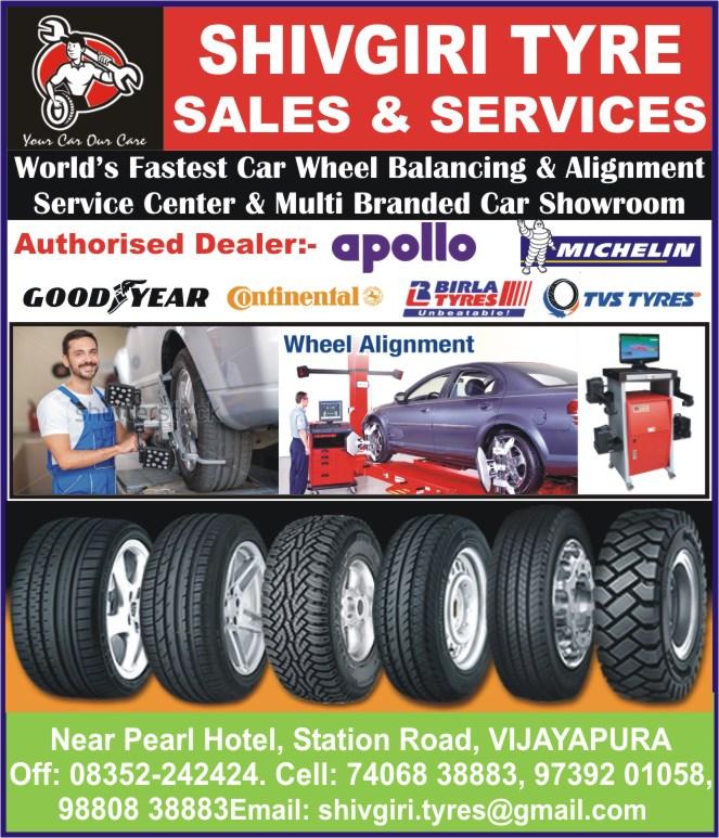 Shivagiri Tyre Sales & Services