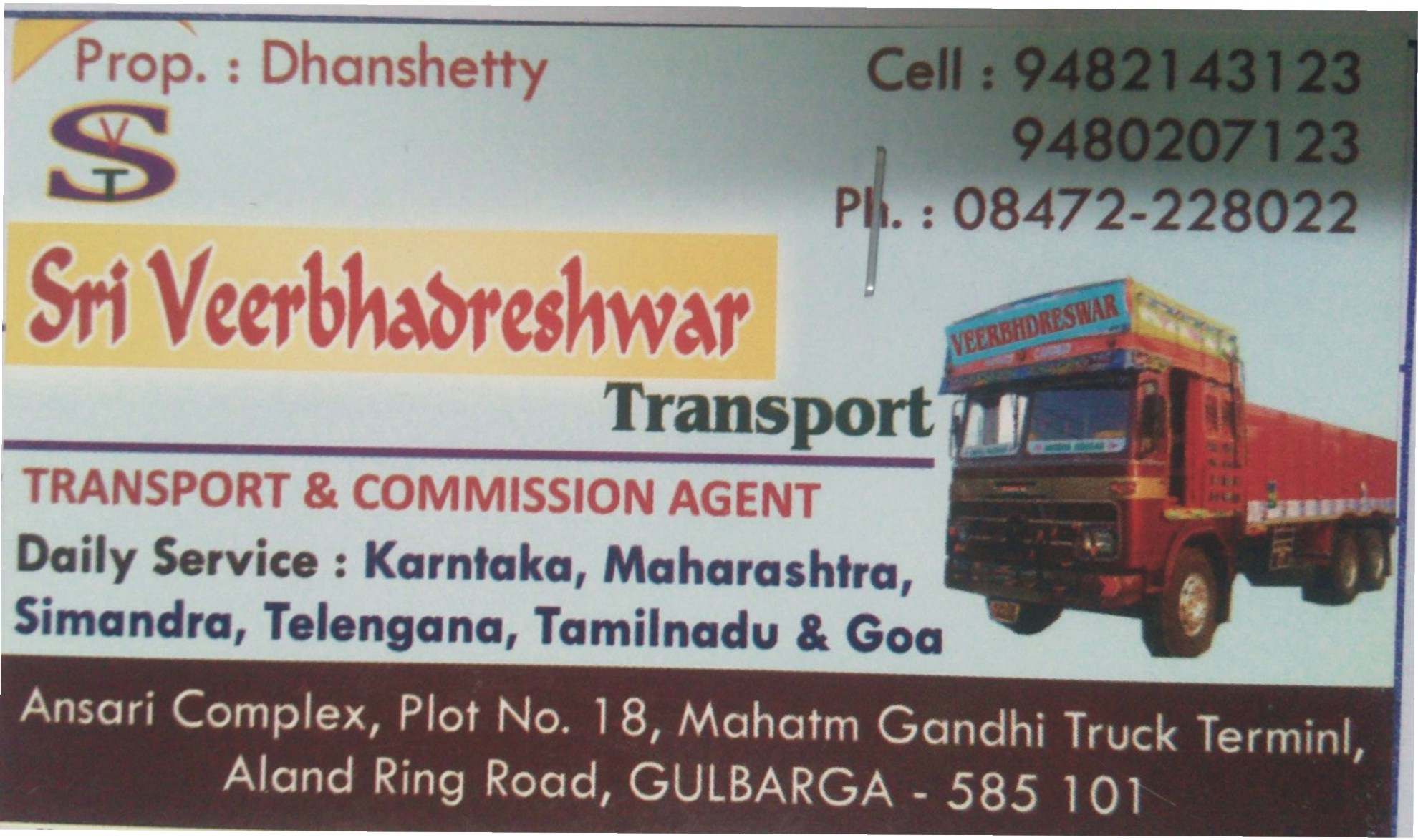 Sri Veerabhadreshwar Transport