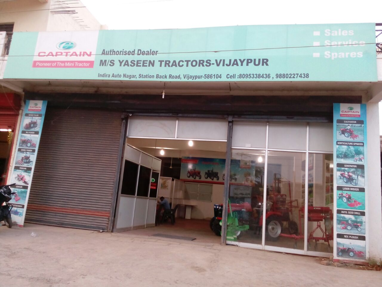 Captain Tractors Dealer in Bijapur