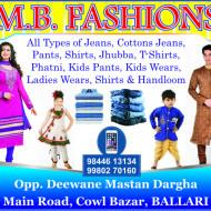 M.B. Fashions