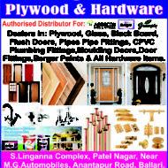 Shri Raghavendra Plywood & Hardware