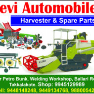 Harvester Spare Parts In Siruguppa