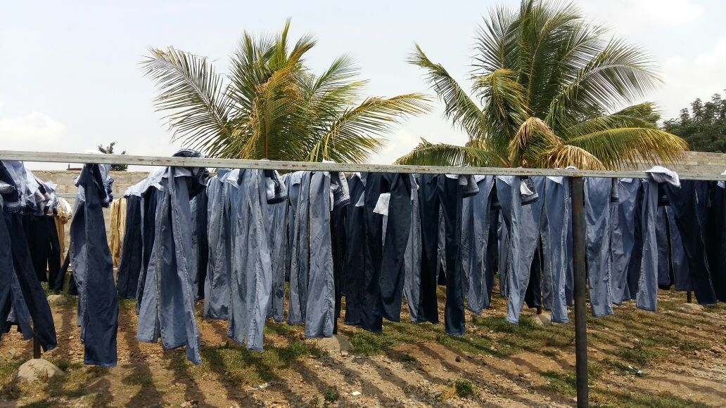 Moon Star Jeans Washers