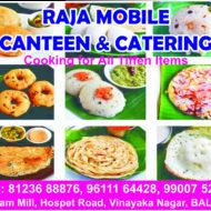 Raja Mobile Canteen & Catering