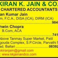 KIRAN K. JAIN & CO.,