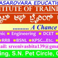BHANDHAVYA INSTITUTE OF TRAINING ACADEMY (BITA)