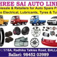SHREE SAI AUTO LINES