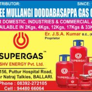 SREE MULLANGI DODDABASAPPA GAS Co.,