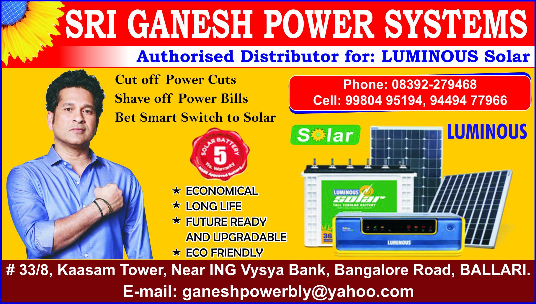 SRI GANESH POWER SYSTEMS