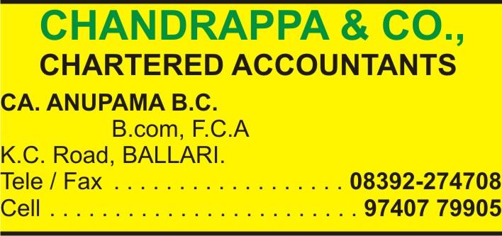 Chandrappa & Co.,