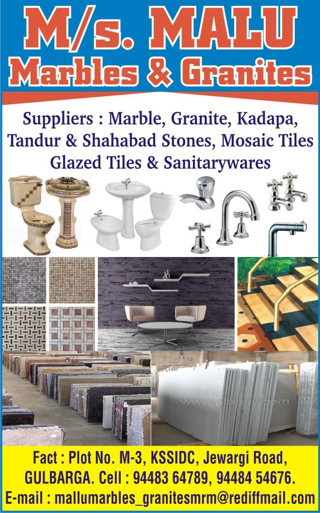 Malu Marbles & Granites