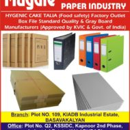 Office File Manufacturers in Gulbarga